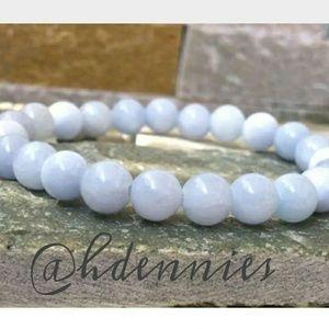 Lovely! Natural White Jade Bracelet